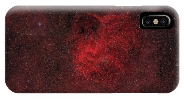 Flyihng Owl Nebula Phone Case by Brian Peterson