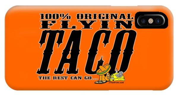 Flyin Taco 005 IPhone Case