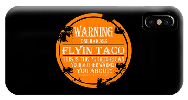 Light Speed iPhone Case - Flyin Taco by Jack Norton