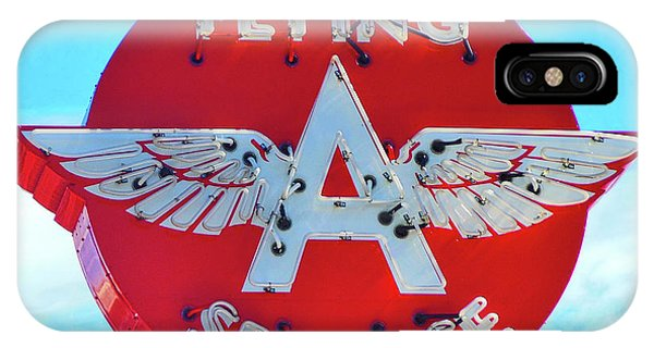 Flying A Service Sign IPhone Case