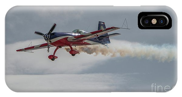 Flying Acrobatic Plane IPhone Case