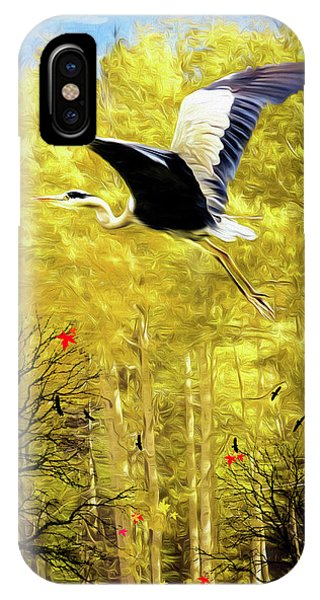 Flying Against The Wind IPhone Case