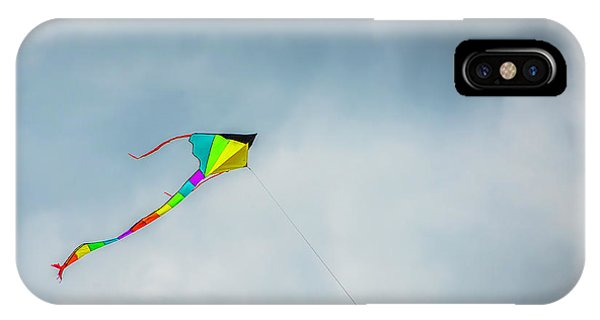 Gay Pride Flag iPhone Case - Flying Colors by Jennifer Stackpole