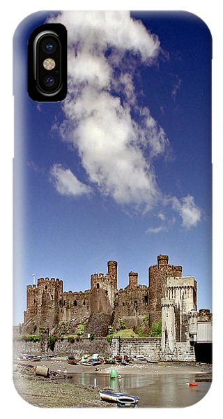 Flying Dragon Conwy Castle IPhone Case