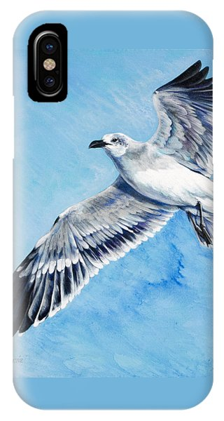 Flying Gull IPhone Case
