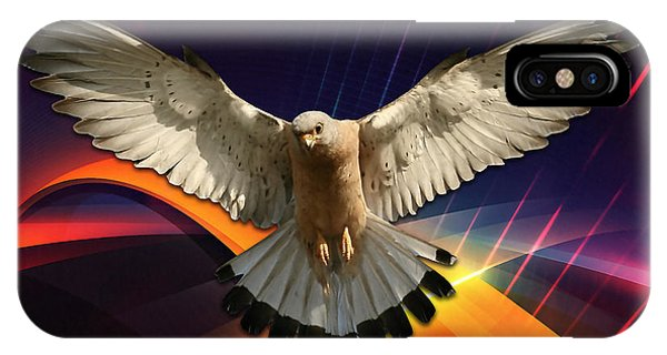Flying In A Abstract Dream IPhone Case