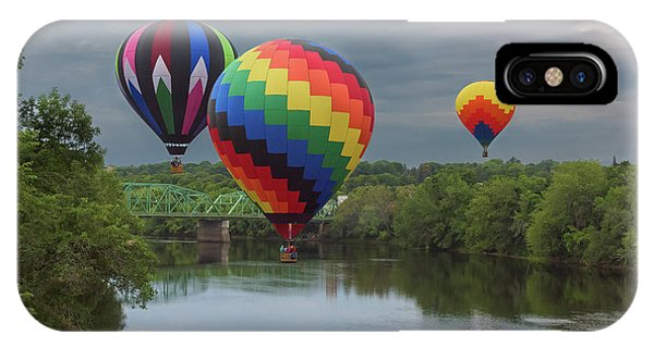 Flying Over The Androscoggin IPhone Case