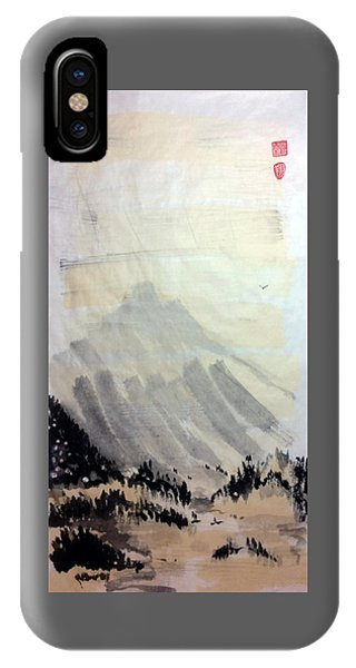 Flying Through The Open Sky IPhone Case