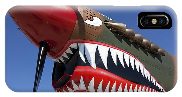 Flying Tiger Plane IPhone Case
