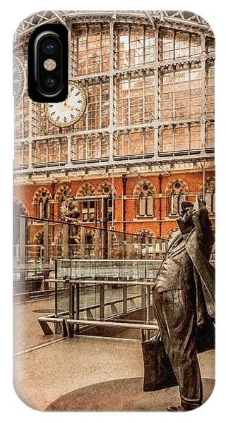 London, England - Flying Time IPhone Case