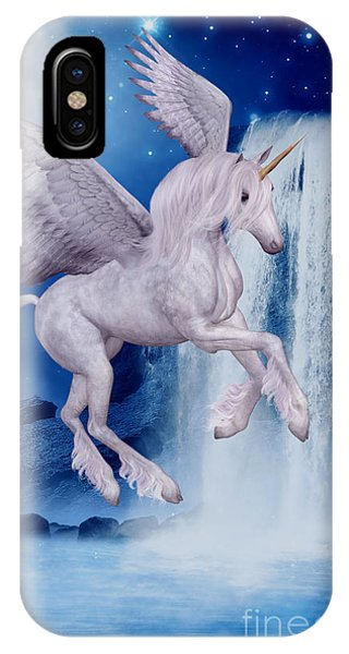 Flying Unicorn IPhone Case
