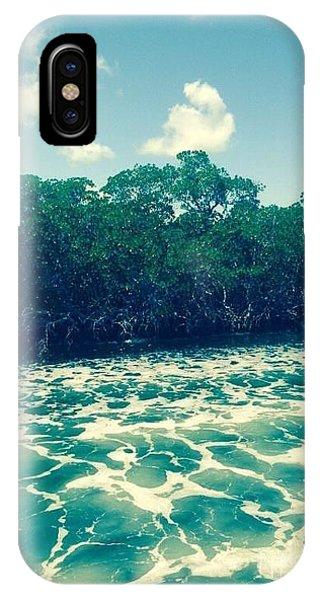 Foamy Water IPhone Case