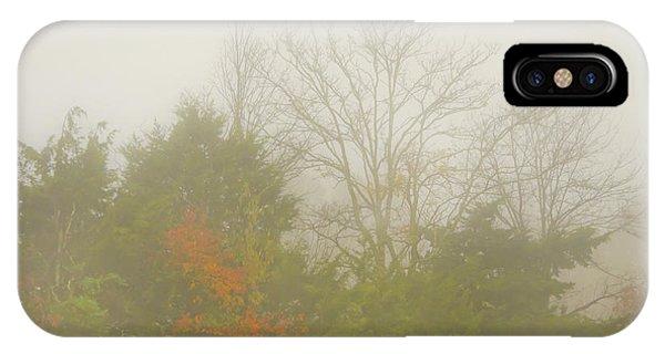 Fog In Autumn IPhone Case