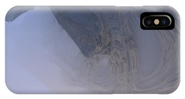 Fog In The Cave IPhone Case