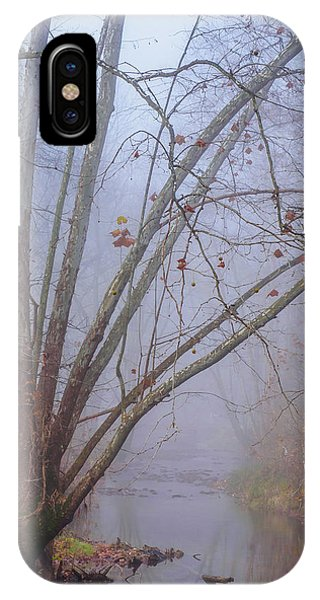 Fog On Buffalo Creek 1 IPhone Case