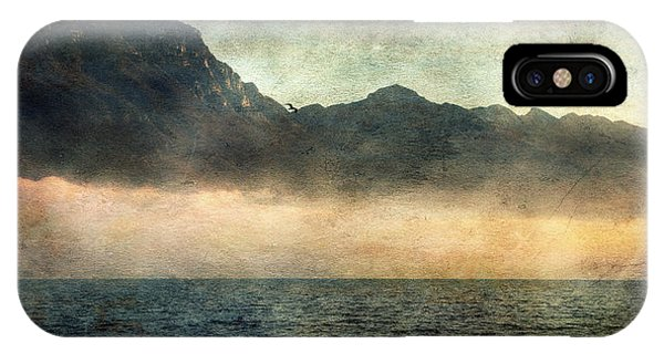 Fog On Garda Lake IPhone Case