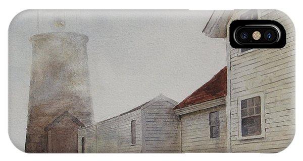 Fog On Monhegan IPhone Case