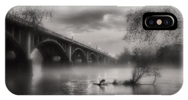 Fog On The Congaree IPhone Case