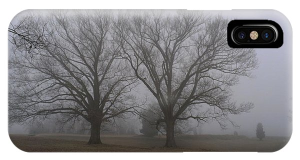 Fog On The Yorktown Battlefield IPhone Case