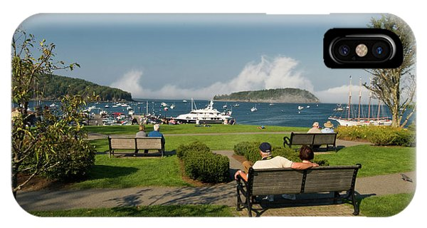 Fog Show Over The Porcupine Islands IPhone Case