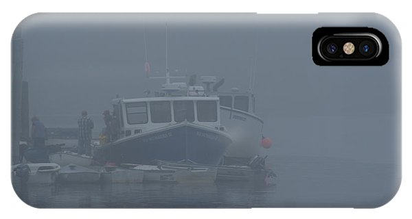 Fogged In At Owls Head IPhone Case