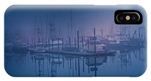 Foggy Bay Front IPhone Case