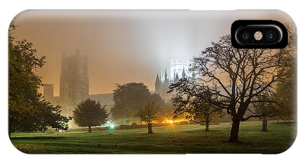 Foggy Cathedral IPhone Case