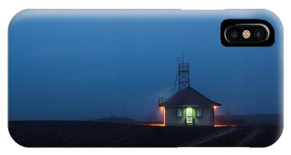 Foggy Dawn At Kew Beach IPhone Case