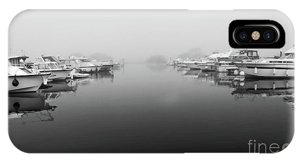 Foggy Day Banagher IPhone Case