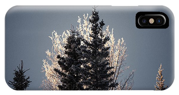 IPhone Case featuring the photograph Foggy Days And Foggy Nights by Fred Denner