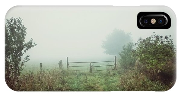 Foggy Field IPhone Case