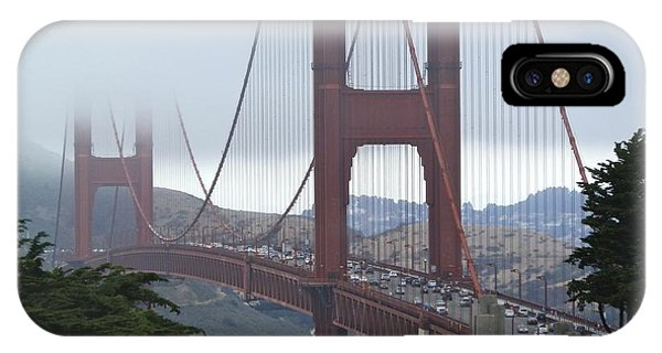 Foggy Golden Gate IPhone Case