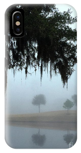 IPhone Case featuring the photograph Foggy Morn Reflections by Rick Locke