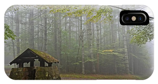 Foggy Morning At Droop Mountain IPhone Case