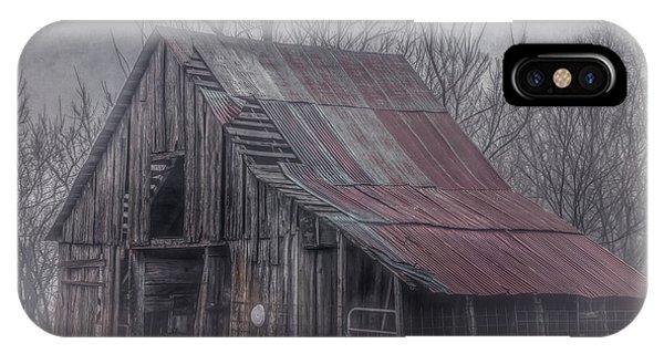Foggy Morning Backroads IPhone Case