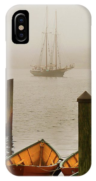 Foggy Morning In Gloucester Ma IPhone Case
