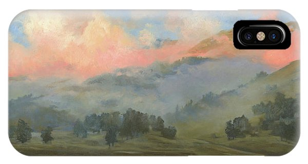 iPhone Case - Foggy Morning In Mountains by Denis Chernov