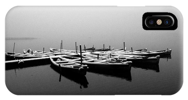 Foggy Morning On West Lake IPhone Case