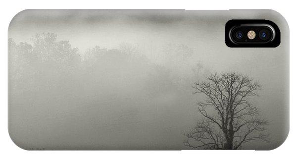 Foggy Mountain-tennessee IPhone Case