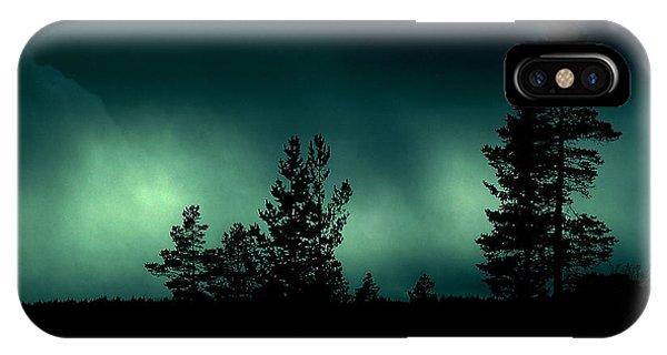 Foggy Night IPhone Case