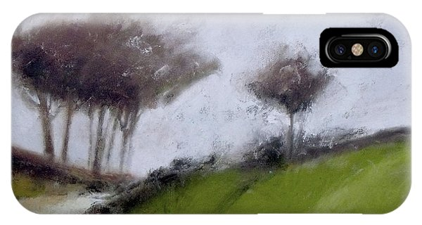 Foggy Path IPhone Case