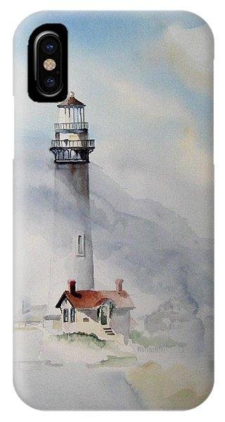 iPhone Case - Foggy Point by Richard Zunkel
