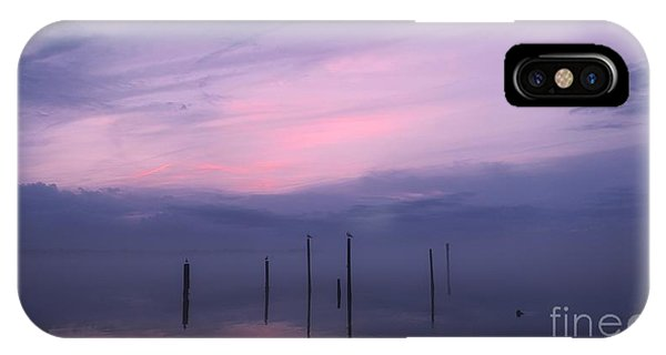 Foggy Purple Haze Sunset IPhone Case