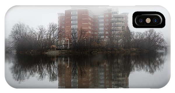 Foggy Reflection IPhone Case