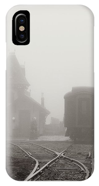 Foggy Station IPhone Case
