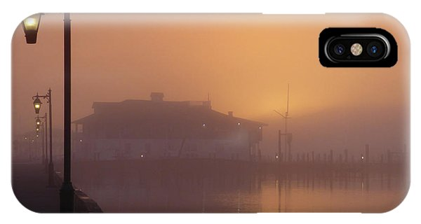 IPhone Case featuring the photograph Foggy Sunrise by Robert Henne