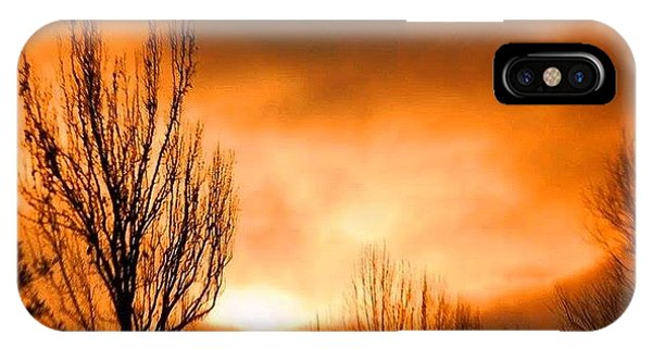 Foggy Sunrise IPhone Case