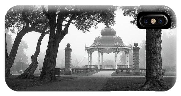 Foggy Tower Grove IPhone Case