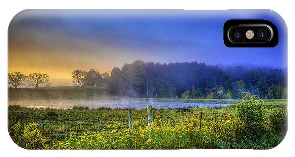Fogy Sunrise  IPhone Case