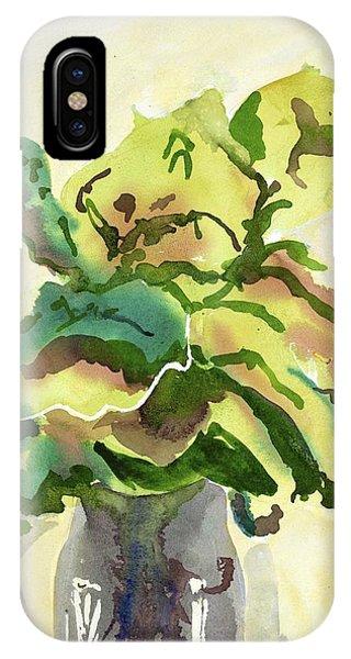 Foliage In Vase IPhone Case